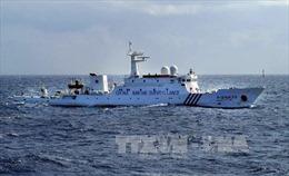 Tàu do thám Trung Quốc rình rập vùng biển Nhật Bản
