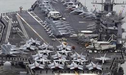 Tàu do thám Trung Quốc bí mật theo dõi tàu sân bay Mỹ
