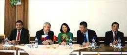 Việt Nam-CH Séc thúc đẩy hợp tác giữa hai Đảng Cộng sản
