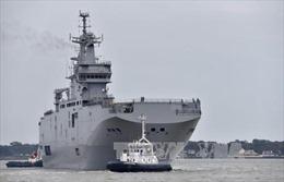Ai Cập đưa tàu sân bay Mistral tập trận với Pháp