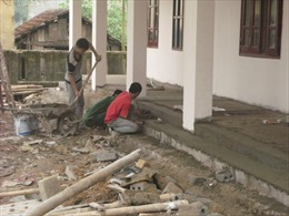 Xây mới gần 200 phòng học cho các huyện miền núi