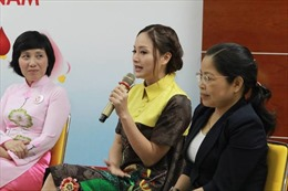Lan Phương trở thành đại sứ đặc biệt của Chiến dịch Hành trình đỏ