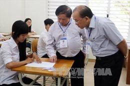 Thứ trưởng Bùi Văn Ga kiểm tra công tác tổ chức thi tại An Giang