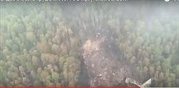 Máy bay Nga vỡ nát trên sườn đồi Siberia