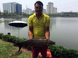 Kiếm sống từ nghề câu cá