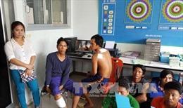 Bảo hộ ngư dân bị hải quân Thái Lan nổ súng vây bắt