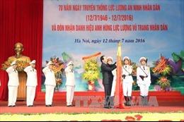 Kỷ niệm 70 năm Ngày truyền thống lực lượng An ninh nhân dân