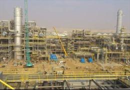 Tạm dừng súc rửa đường ống dầu thô Công ty Nghi Sơn