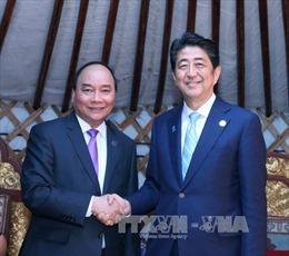 Thủ tướng dồn dập tiếp xúc song phương bên lề ASEM