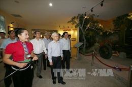 Tổng Bí thư Nguyễn Phú Trọng thăm, làm việc tại tỉnh Điện Biên