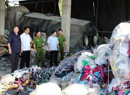 Bắc Ninh: Đốt lò hơi bằng vải vụn gây ô nhiễm môi trường