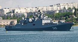 Lộ diện tàu chiến mới nhất của Hạm đội Biển Đen