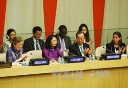 Phó Chủ tịch nước Đặng Thị Ngọc Thịnh nêu vấn đề hạn, mặn tại LHQ