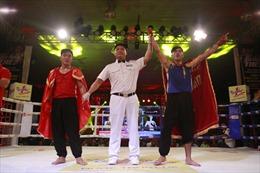 Nguyễn Bá Thời giành vé vào vòng bán kết Võ cổ truyền năm 2016