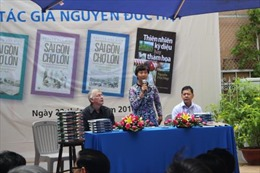 Giao lưu với tiến sỹ viết sách về Sài Gòn - Chợ Lớn