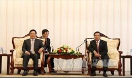 Lãnh đạo Lào đánh giá cao quan hệ Việt-Lào