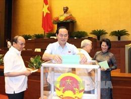 Ông Trần Đại Quang được giới thiệu bầu Chủ tịch nước
