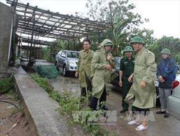 Thái Bình đưa người dân sinh sống ngoài đê vào nơi an toàn