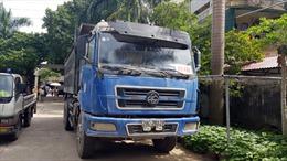 Rất ít xe tải dán phù hiệu