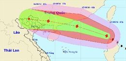 Bão số 2 gây mưa lớn, gió giật cấp 16-17 trên Biển Đông