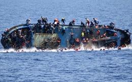 Hơn 120 thi thể người di cư trôi giạt vào Libya