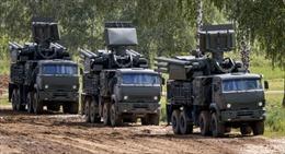 Chiến sĩ tên lửa Nga lần đầu bắn tổ hợp pháo Pantsir-S1