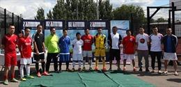 Sôi động giải bóng đá của cộng đồng người Việt tại Anh