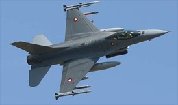 Máy bay Đan Mạch lần đầu dội bom IS ở Syria