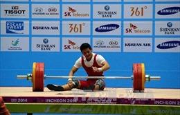 VĐV cử tạ Thạch Kim Tuấn không thể đoạt huy chương