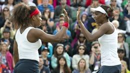 Chị em nhà Williams thất bại ở nội dung đánh đôi tennis