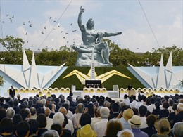 Nhật Bản tưởng niệm 71 năm Nagasaki bị ném bom nguyên tử