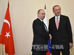 """Tổng thống Thổ Nhĩ Kỳ đến Nga """"làm lành"""""""