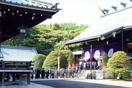 Hàng loạt quan chức Nhật Bản viếng đền Yasukuni