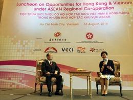 Thúc đẩy hợp tác kinh tế giữa Hồng Kông và Việt Nam