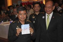 Thái Lan sắp thay Tư lệnh Lục quân
