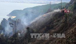 Cơ bản khống chế vụ cháy lớn tại rừng Nam Hải Vân