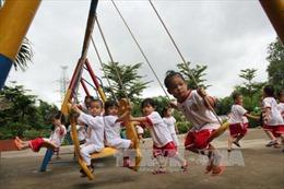 Trường mẫu giáo 3 triệu USD phục vụ miễn phí con công nhân