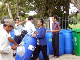 Mô hình phụ nữ bảo vệ môi trường khu dân cư