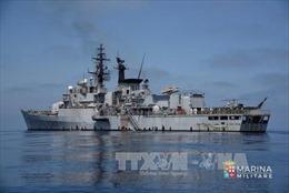 Ba tàu chiến Ấn Độ cập cảng Seychelles