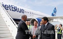 Chuyến bay thương mại đầu tiên từ Mỹ hạ cánh tại Cuba sau hơn nửa thế kỷ