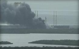 Tên lửa Falcon 9 phát nổ sau khi rời bệ phóng