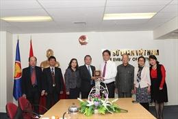 Chủ tịch MTTQ Hà Nội thăm làm việc tại New Zealand