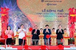 Thủ tướng dự Lễ động thổ Dự án Công viên Kim Quy tại Hà Nội