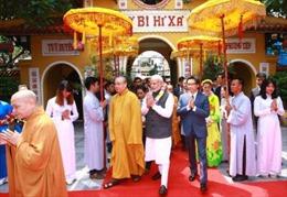 Thủ tướng Ấn Độ giao lưu với tăng, ni Học viện Phật giáo Việt Nam