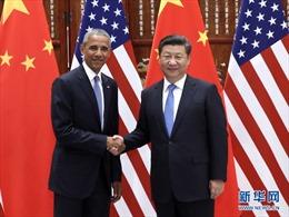 Tổng thống Mỹ Obama lên tiếng về Biển Đông tại Trung Quốc