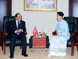 Thủ tướng gặp Bộ trưởng Ngoại giao Myanmar