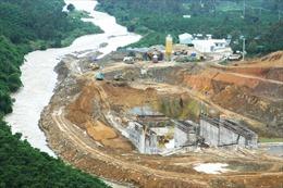 Đình chỉ thi công công trình thủy điện Đại Bình