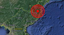 Động đất lớn, nghi Triều Tiên thử hạt nhân