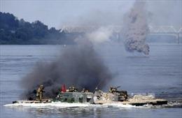 Bộ trưởng Quốc phòng Nga tới Crimea thị sát tập trận