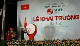 Đại học Việt Nhật khai giảng khóa học đầu tiên